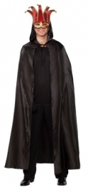 Zwarte halloween cape