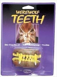 Horror weerwolf tanden