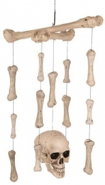 Skelet hanger met LED