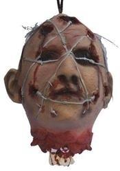 Hangend hoofd ijzerdraad