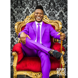 Purple prince opposuits kostuum