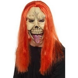 Zombie punk masker