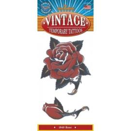 Vintage Tattoo Rose 1940