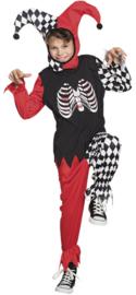 Horror Harlekijn kids kostuum
