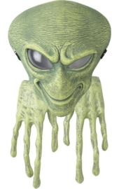 Masker en handen van een Alien