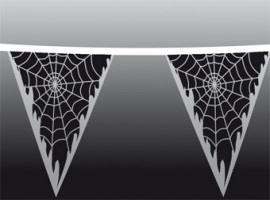 Vlaggenlijn Spinnenweb