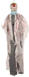 Zombie dokter hang decoratie