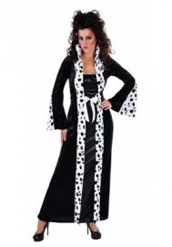 Gothic Cruel lange jurk