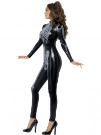 Catsuit skelet beauty