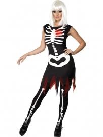 Skelet jurkje met Led