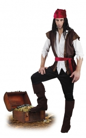 Piraat thunder kostuum