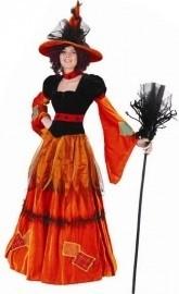 Heksen kostuum Pumpkina