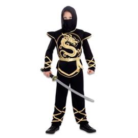 Ninja kostuum jongen