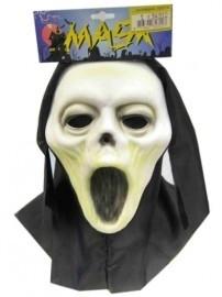 Scream masker + doek