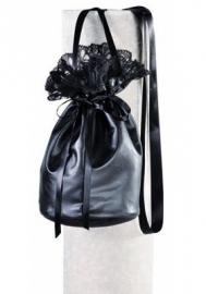 Handtas buidel zwart