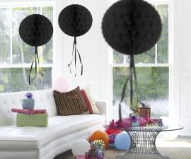 Honeycomb hangdeco zwart