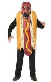 Zombie hotdog kostuum