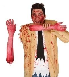 Arm bloederig