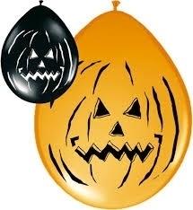 Halloween happy ballonnen