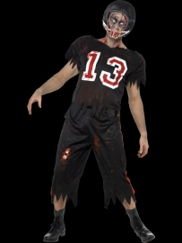 Horror football player