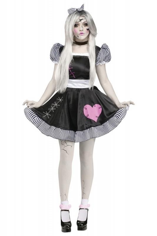 Gebroken porselein pop jurkje