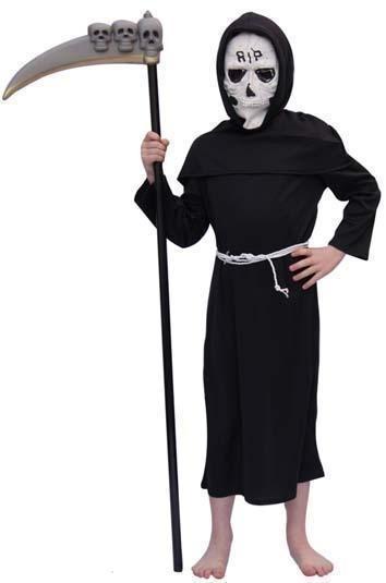 Grim reaper kostuum jongens