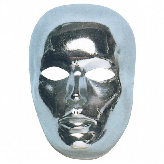 Zilver Hell masker