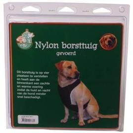 Nylon Verstelbaar Borsttuig Voor Hond Gevoerd