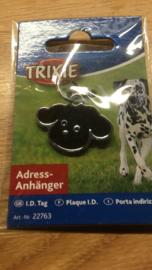 TRIXIE DOG hoofd zwart