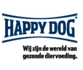 Nieuwe in de Webwinkel  Happy Dog voer