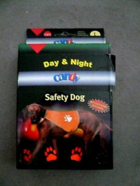 Karlie Dog Day Night Medium Oranje