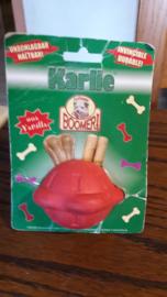 Karlie boomer voerbal rubber met vanille aroma