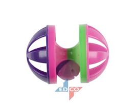 Kat speelgoed cilinder bal groen