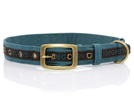 51 Degrees North Dog Collar   Seaweed