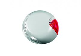 Flexi Vario Led Light System. Maat S. M En L - Veiligheidshalsband - 7.1 cm x 7.1 cm x 2.1 cm - Wit/Rood