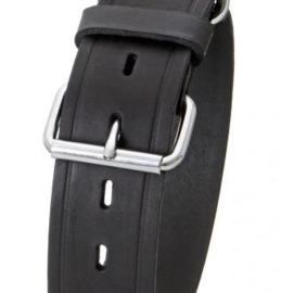 Karlie rondo halsband voor hond zwart 35 mmx45 cm