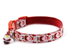 halsband voor grote hond kerst L met kerstman
