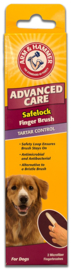 Arm & Hammer Uitgebreid Care Safelock Finger Brush-2pk.