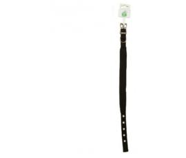 Nylon Halsband Soft - Zwart 30mmx35cm