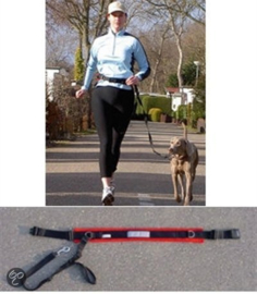 ABACA Riem Abaca doggy-belt handsfree