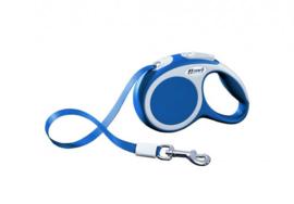 Flexi Vario XS - Riem - 300 cm - Blauw