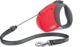 Flexi Comfort Rood/ zwart 5 mtr tot 25 kg