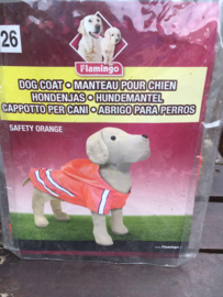 Hondenjas Safety Orange maat 26