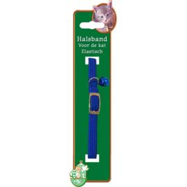Kattenhalsband Elastisch Blauw