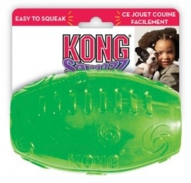 Kong squeezz football medium groen en blauw
