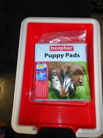 Puppy pads 7st  met Marchioro Bak KOBA 1_37 x 27 9 h.