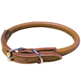 halsband van elandleer -rond-