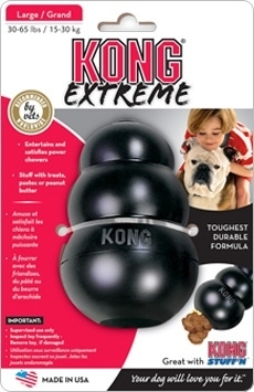 Extreme kong zwart medium