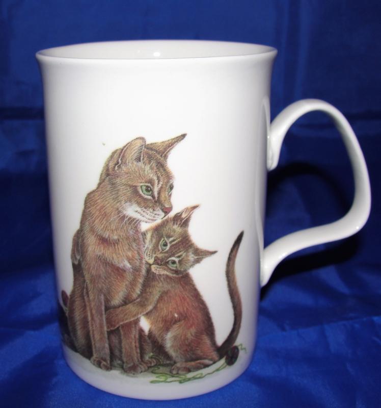 Roy Kirkham Porselein Cat Lovers Beker met Oor