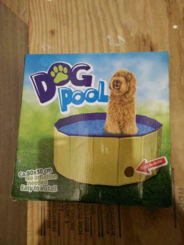 dog pool hondenzwembad 80 cm